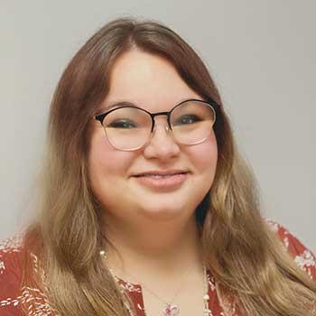 Veronika Yerke, (Roni), Hearing Instrument Specialist.